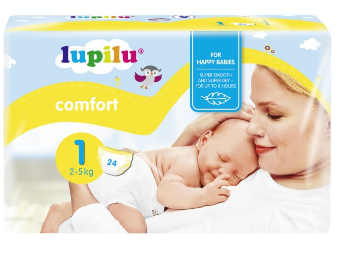 LIDL Lupilu Couches Midi 56 Couches Taille 3
